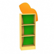 Childrens Novelty Frog Bookcase with Feature Panels